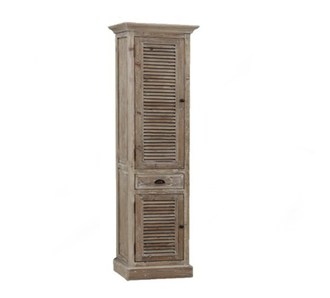 Wk1937 Side Cabinet Linen Tower Infurniture Vanity